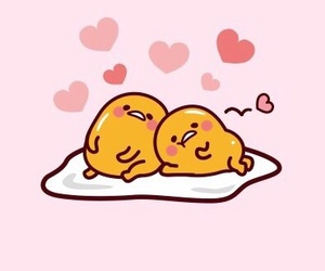 egg, heart, and japan image