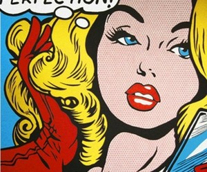 perfection, pop art, and comic image