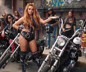 black, littlemix, and motorbike image