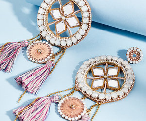 earrings, jewelry, and mirror image