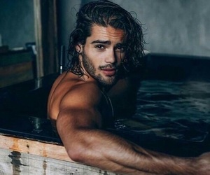 bath, handsome, and long hair image