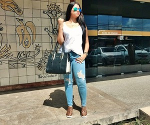 blog, jeans, and blogueira image