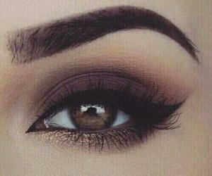 beauty, eyeshadow, and eyebrow image
