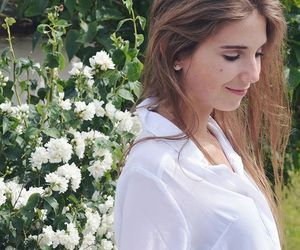 anorexia, fashion, and flowers image