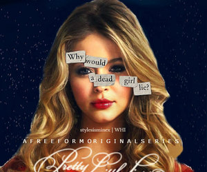 blonde, pretty little liars, and pll image
