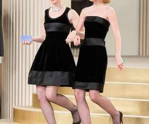 models, lily collins, and lily-rose depp image