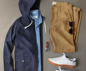 autumn, denim, and fashion image
