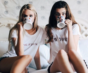 friends, best friends, and coffee image