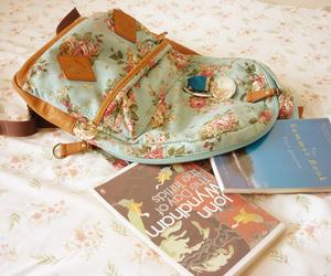book, bag, and cute image