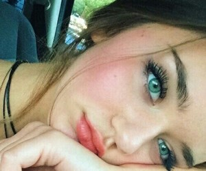 girl, eyes, and pretty image