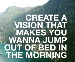 quote, motivation, and vision image