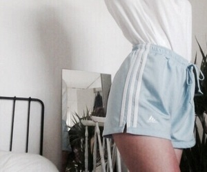 adidas, blue, and aesthetic image