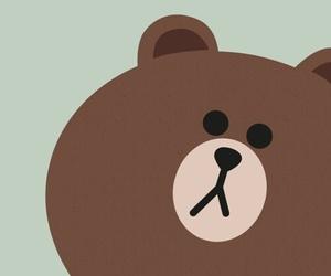 art, bear, and brown image