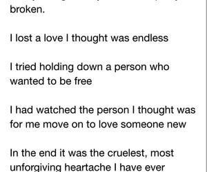 broken, he, and hurt image