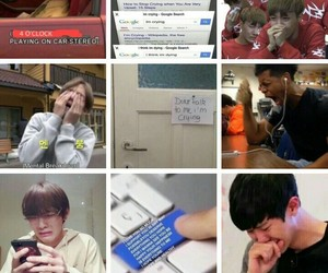 funny, kpop, and moodboard image