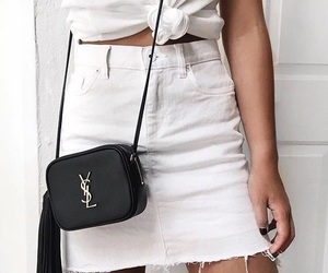 fashion, white, and love image