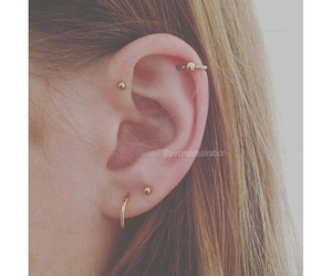 earring and piercing image