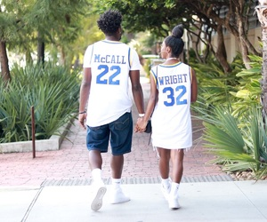 fashion, love and basketball, and relationship goals image