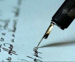 becoming jane, Letter, and pen image