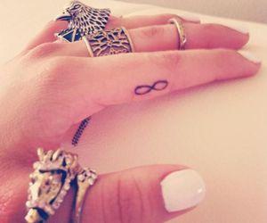 infinite, tatoo, and rings image