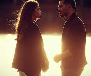 couple, love, and bensu soral image