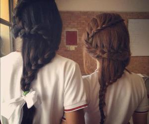 beautiful, girls, and hair image