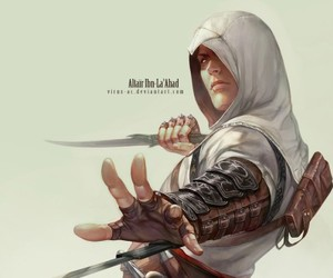altair, assassin's creed, and altaïr ibn-la'ahad image