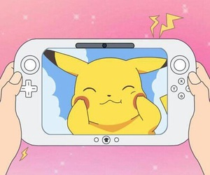pokemon, pikachu, and pink image
