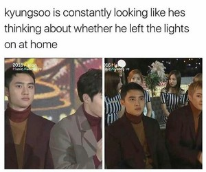 meme, exo, and kpop image
