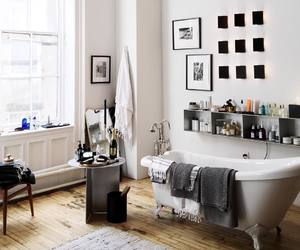 apartment, bathroom, and home image