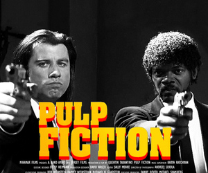 pulp fiction, John Travolta, and gif image