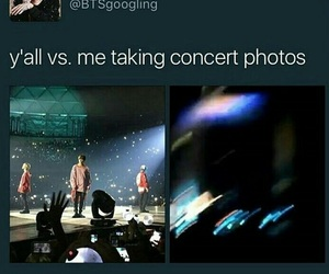 bts, concert, and funny image