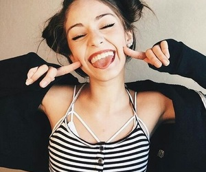 girl, tumblr, and smile image