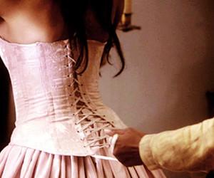 dress, corset, and katherine pierce image