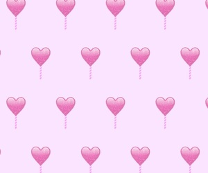 heart, pattern, and pink image