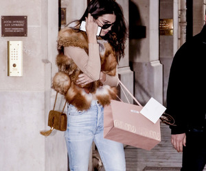 model, kendall jenner, and girl image
