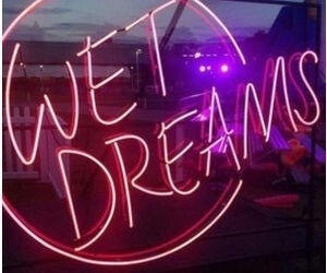 neon, wet dreams, and light image