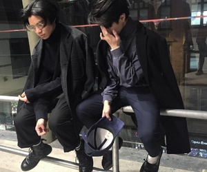 boys, kfashion, and korean fashion image