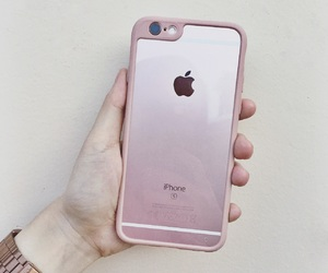 iphone, rosegold, and iphone6s image
