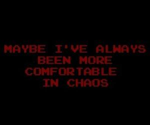 chaos and life image
