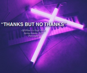 grunge, quote, and purple glow image