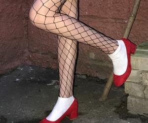fashion, indie, and stockings image