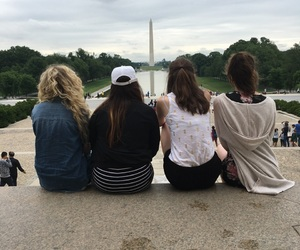 blonde, brunette, and d.c. image