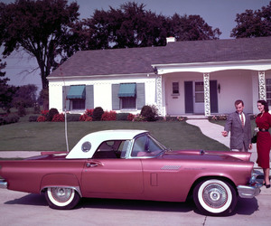 car, 50s, and classic image