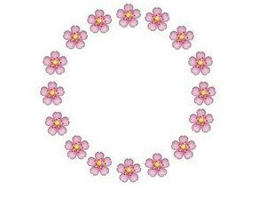 overlay, flowers, and pink image