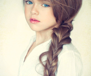 beautiful, child, and girl image