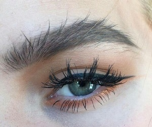 eye, fashion, and girl image