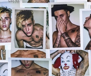 clown, justin bieber, and sexy image