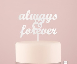 wedding cake toppers and acrylic cake topper image