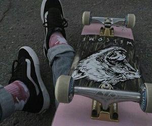 skate, grunge, and pink image